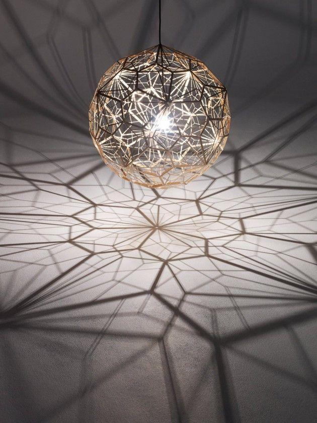 Geometric Wire-Frame Pendants